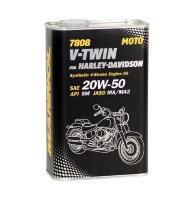 4-T for Harley Davidson 20W-50 SM 7808  1л METALL