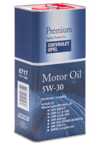 FF for Chevrolet Opel 5W-30 5л  METALL