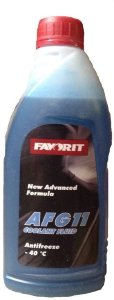 Antifreeze FAVORIT AFG 11 -40 C  0.55кг
