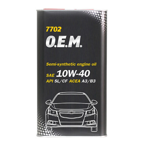 7702 OEM  for Chevrolet Opel  10W-40 SL/CF 1л.
