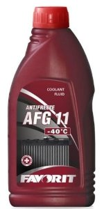 Antifreeze FAVORIT AFG 11 -40 C  1 кг