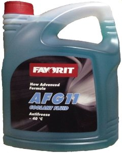 Antifreeze FAVORIT AFG 11 -40 C  5 кг