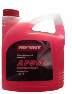 Antifreeze FAVORIT AFG 12 -40 C  5 кг