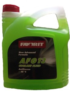 Antifreeze FAVORIT AFG 13 -40 C 5 кг