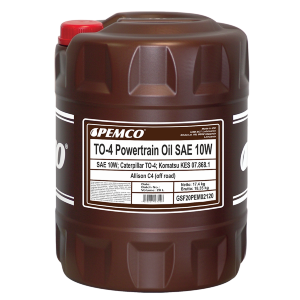 TO-4 Powertrain Oil SAE 10W PEMCO 20л