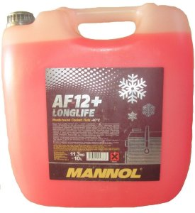 Antifreeze AF 12-40 red 10л.