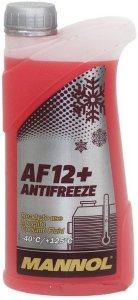 Antifreeze AF 12-40 red прозр.кан 1л (1,08кг)