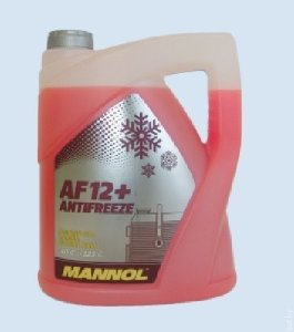 Antifreeze AF 12-40 red прозр.кан 5л (5,4кг)