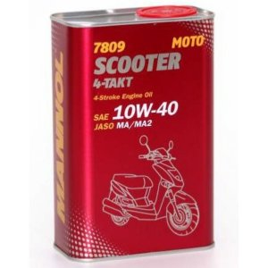 4-Takt Scooter 10W-40 1л. 7809 METALL